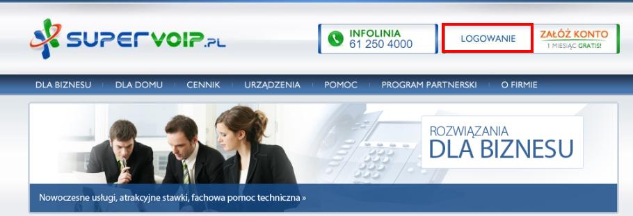 Konfiguracja telefonii z Firmao