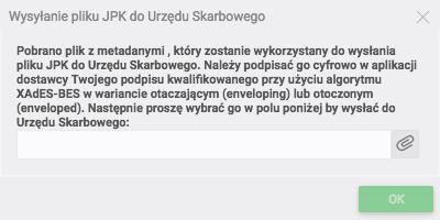 Wysyłanie JPK MAG do Urzędu Skarbowego